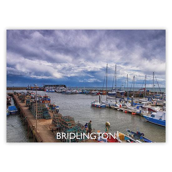 Bridlington Harbour - Sold in pack (100 postcards)