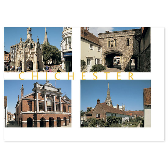 Chichester Compilation - Sold in pack (100 postcards)