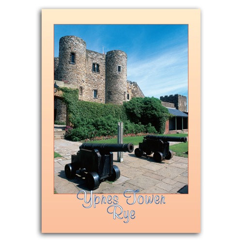 Rye Ypres Tower - Sold in pack (100 postcards)