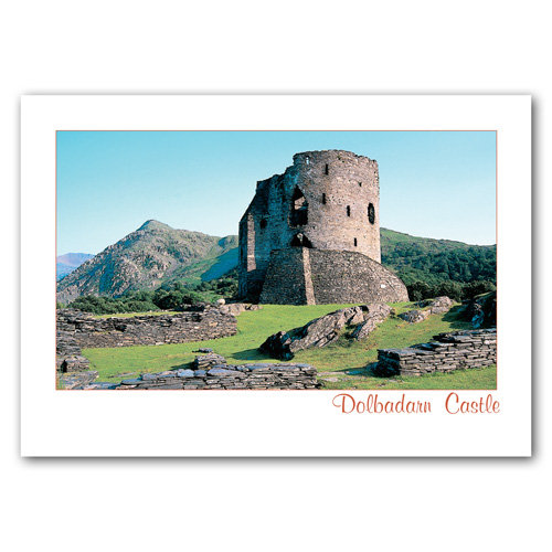 Dolbadarn Castle - Sold in pack (100 postcards)