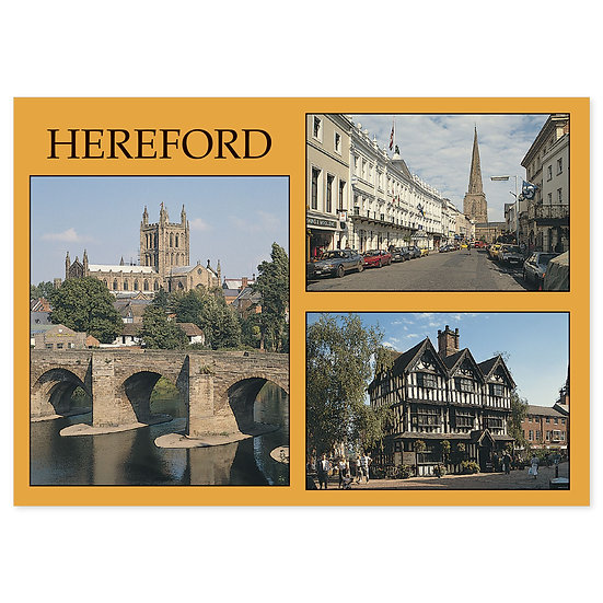 Hereford Comp - Sold in pack (100 postcards)