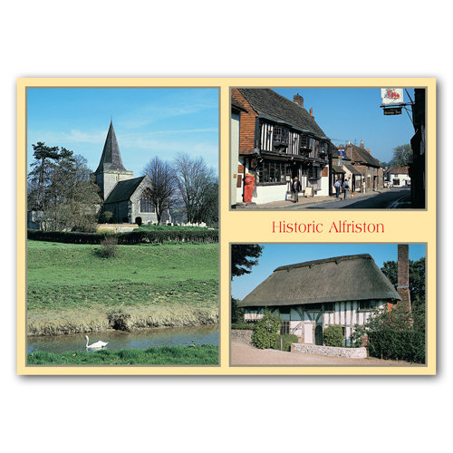 Alfriston - Sold in pack (100 postcards)