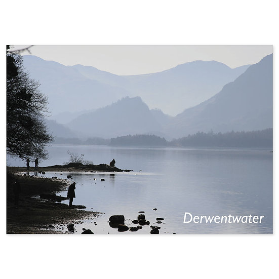 Derwentwater, Soft Hues - Sold in pack (100 postcards)