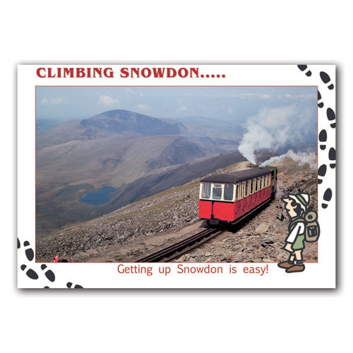 Snowdon Climbing - Sold in pack (100 postcards)