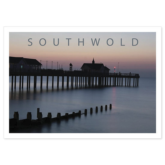 Southwold Pier - Sold in pack (100 postcards)