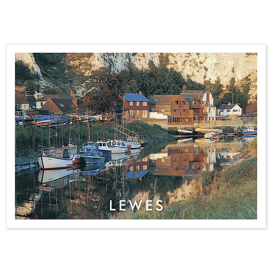 Lewes River - Sold in pack (100 postcards)