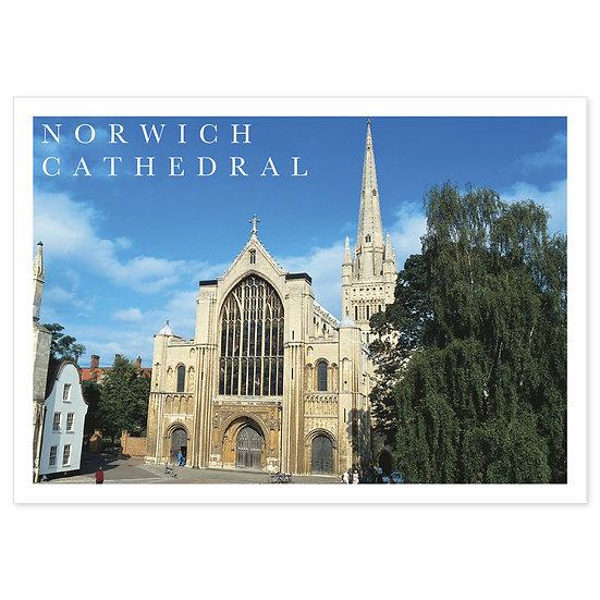 Norwich Cathedral - Sold in pack (100 postcards)
