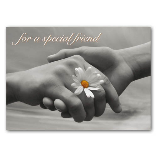 Statement - For A Special Friend - Sold in pack (100 postcards)