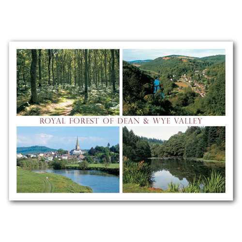 Forest of Dean & Wye View - Sold in pack (100 postcards)