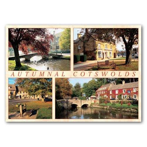Cotswolds Autumnal - Sold in pack (100 postcards)