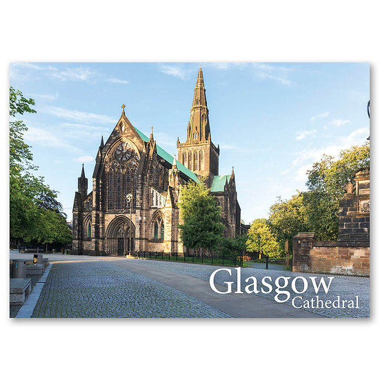 Glasgow Cathedral - Sold in pack (100 postcards)
