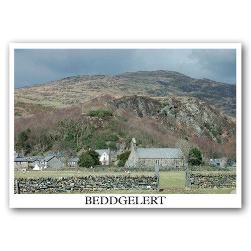Beddgelert Single View - Sold in pack (100 postcards)