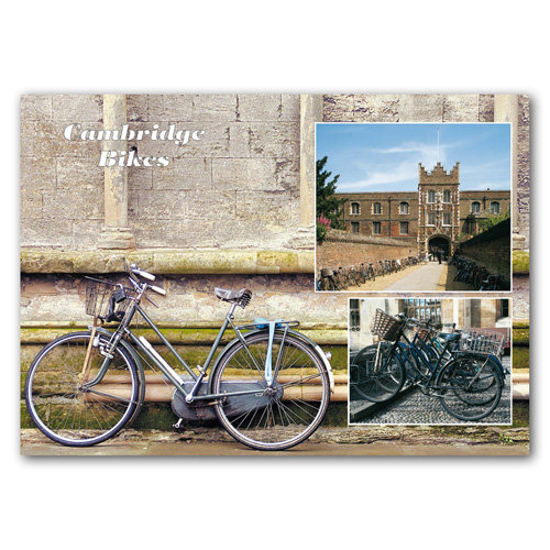 Cambridge Bikes - Sold in pack (100 postcards)