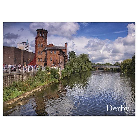 Derby River - Sold in pack (100 postcards)