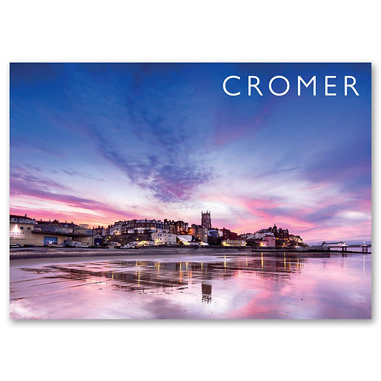 Cromer in pink - Sold in pack (100 postcards)