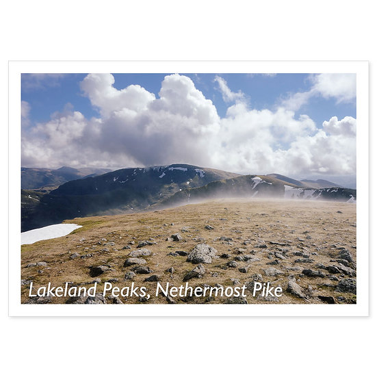 Lakeland Peaks, Nethermost Pike - Sold in pack (100 postcards)