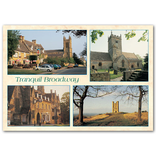 Broadway Tranquil Comp - Sold in pack (100 postcards)