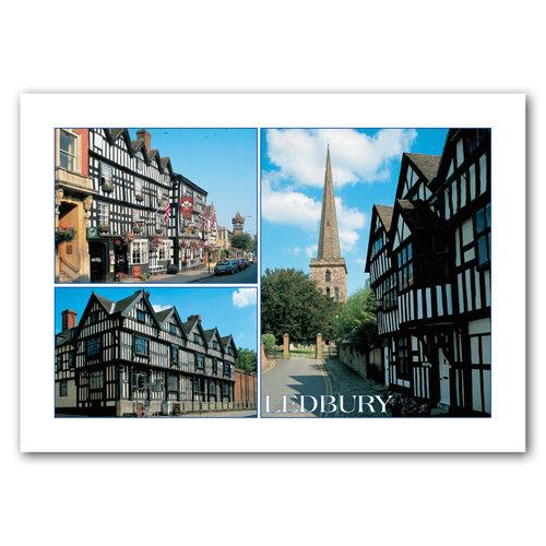 Ledbury - Sold in pack (100 postcards)
