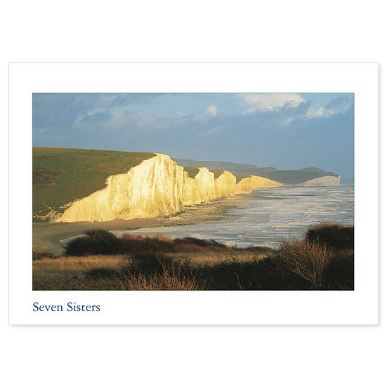 Sussex Simply Seven Sisters - Sold in pack (100 postcards)