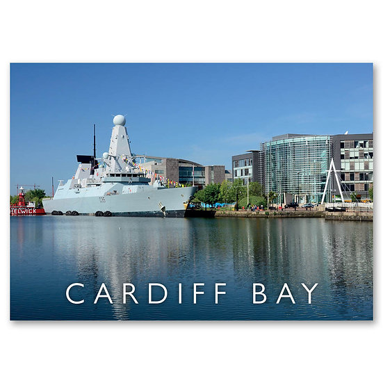 Cardiff Bay - Sold in pack (100 postcards)