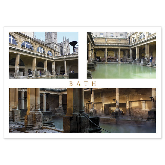 Bath Roman Baths Compilation - Sold in pack (100 postcards)