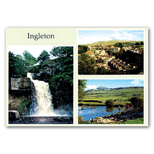 Ingleton 3 View Comp - Sold in pack (100 postcards)