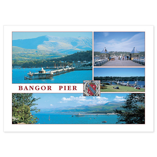 Bangor Pier - Sold in pack (100 postcards)