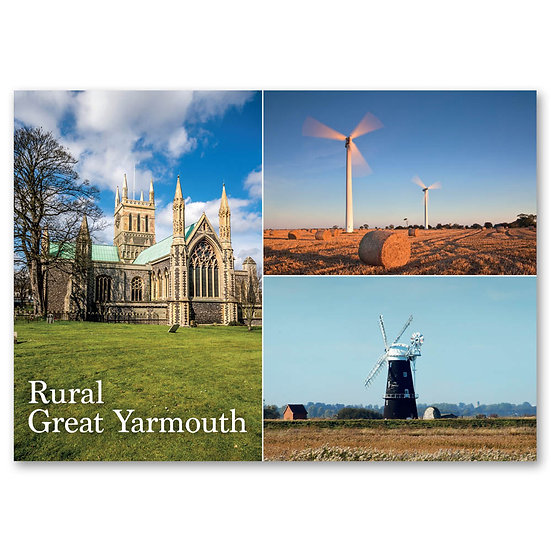 Great Yarmouth; Rural - Sold in pack (100 postcards)