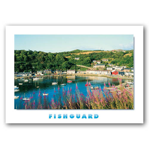 Fishguard - Sold in pack (100 postcards)