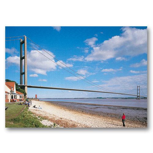Hull Humber Bridge - Sold in pack (100 postcards)