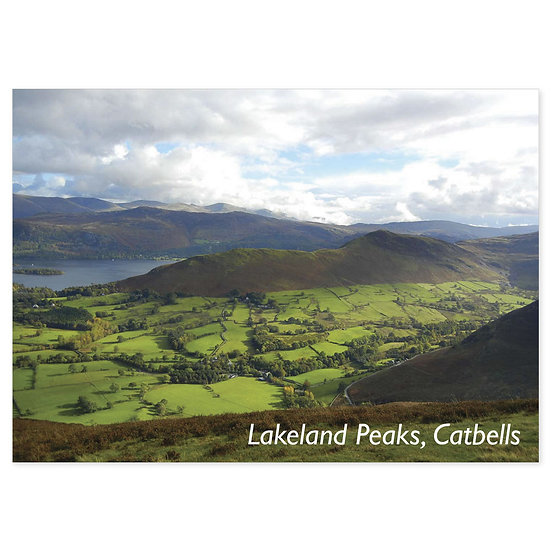 Lakeland Peaks, Catbells - Sold in pack (100 postcards)