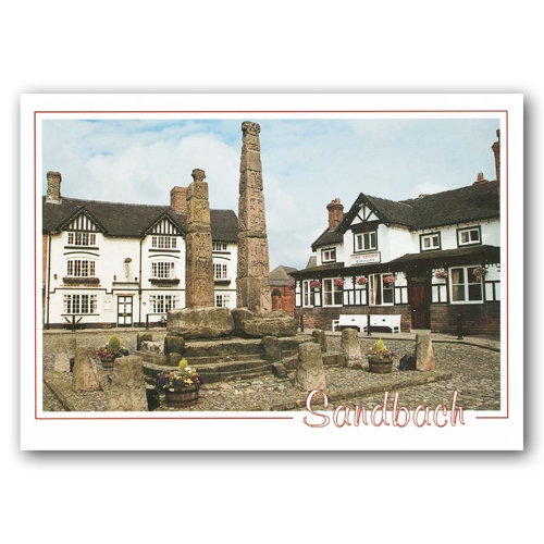 Sandbach - Sold in pack (100 postcards)