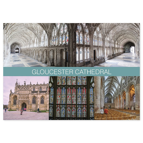 Gloucester Cathedral Comp - Sold in pack (100 postcards)