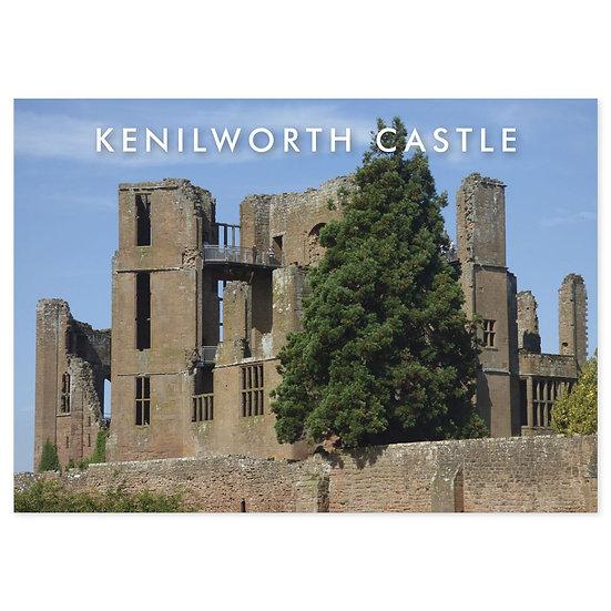 Kenilworth Castle - Sold in pack (100 postcards)
