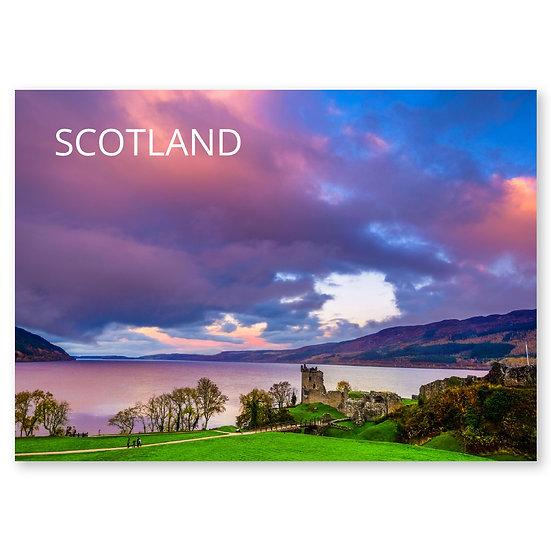 Urquhart Castle - Sold in pack (100 postcards)