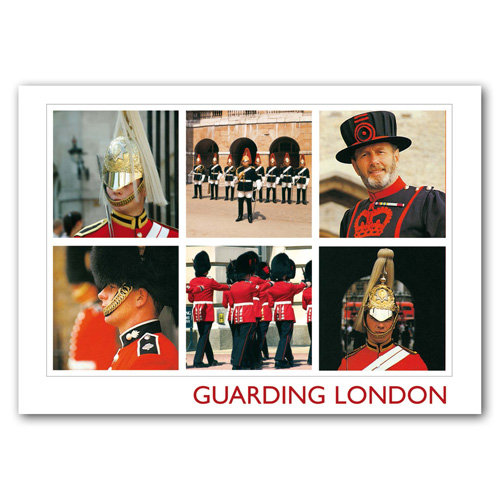 London 9 View Comp - Sold in pack (100 postcards)
