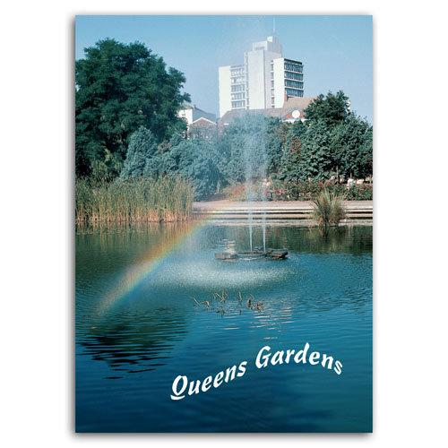 Hull Queens Garden - Sold in pack (100 postcards)