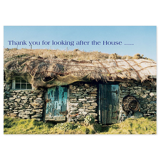 Thank You - House - Sold in pack (100 postcards)