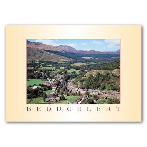 Beddgelert Village - Sold in pack (100 postcards)
