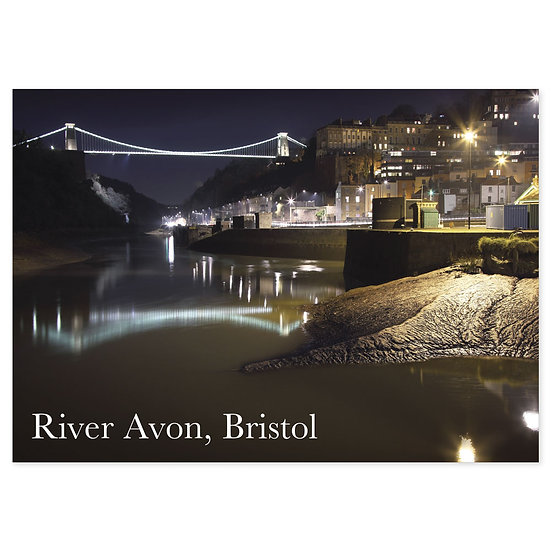 Bristol River Avon - Sold in pack (100 postcards)