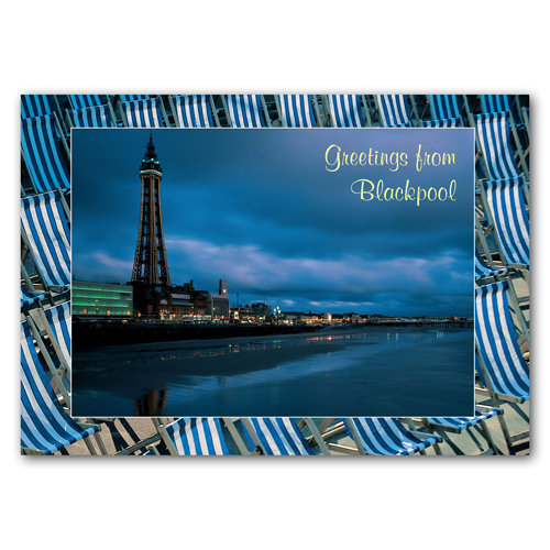 Blackpool - The Tower Ballroom - Sold in pack (100 postcards)