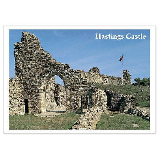 Hastings Castle - Sold in pack (100 postcards)