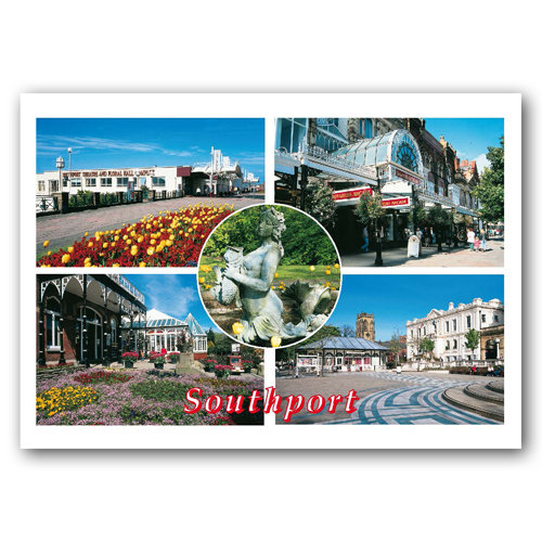 Southport Comp - Sold in pack (100 postcards)