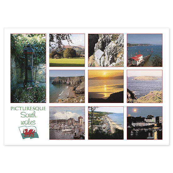 South Wales Picturesque Comp - Sold in pack (100 postcards)
