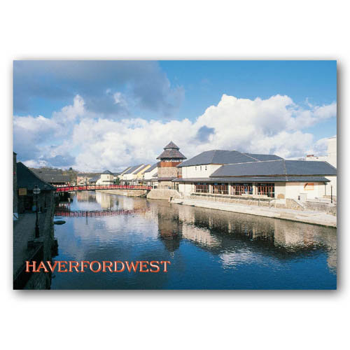 Haverfordwest - Sold in pack (100 postcards)