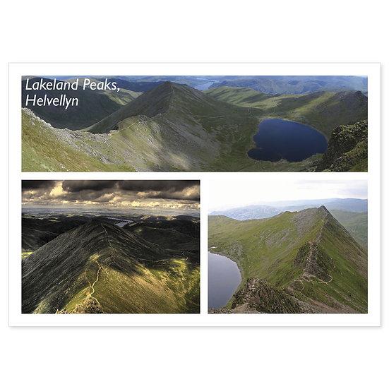Lakeland Peaks, Helvellyn Comp - Sold in pack (100 postcards)