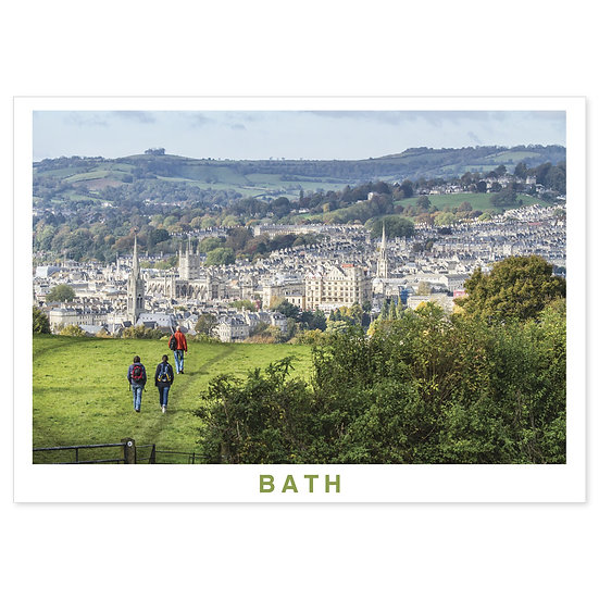 Bath - Sold in pack (100 postcards)