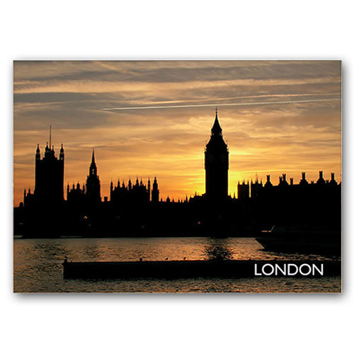 London By Night - Sold in pack (100 postcards)