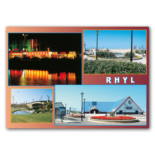 Rhyl View Comp - Sold in pack (100 postcards)