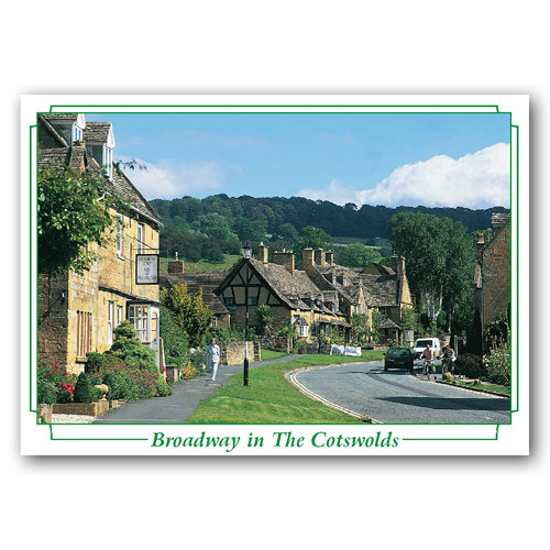 Broadway in The Cotswolds - Sold in pack (100 postcards)